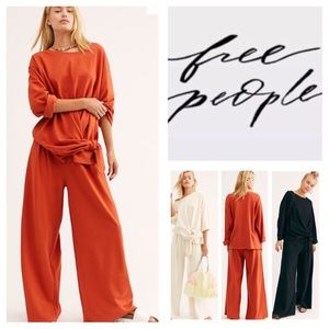 Free People FP Beach Two-Piece Lax Set.  NWT.